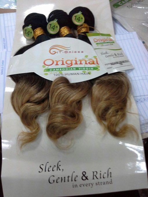 14''  VIRGIN HAIR (3PCS)