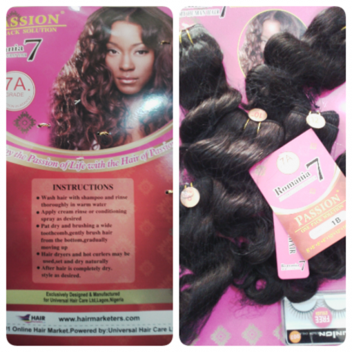 PASSION(ROMANIA7 REMY HUMAN HAIR)