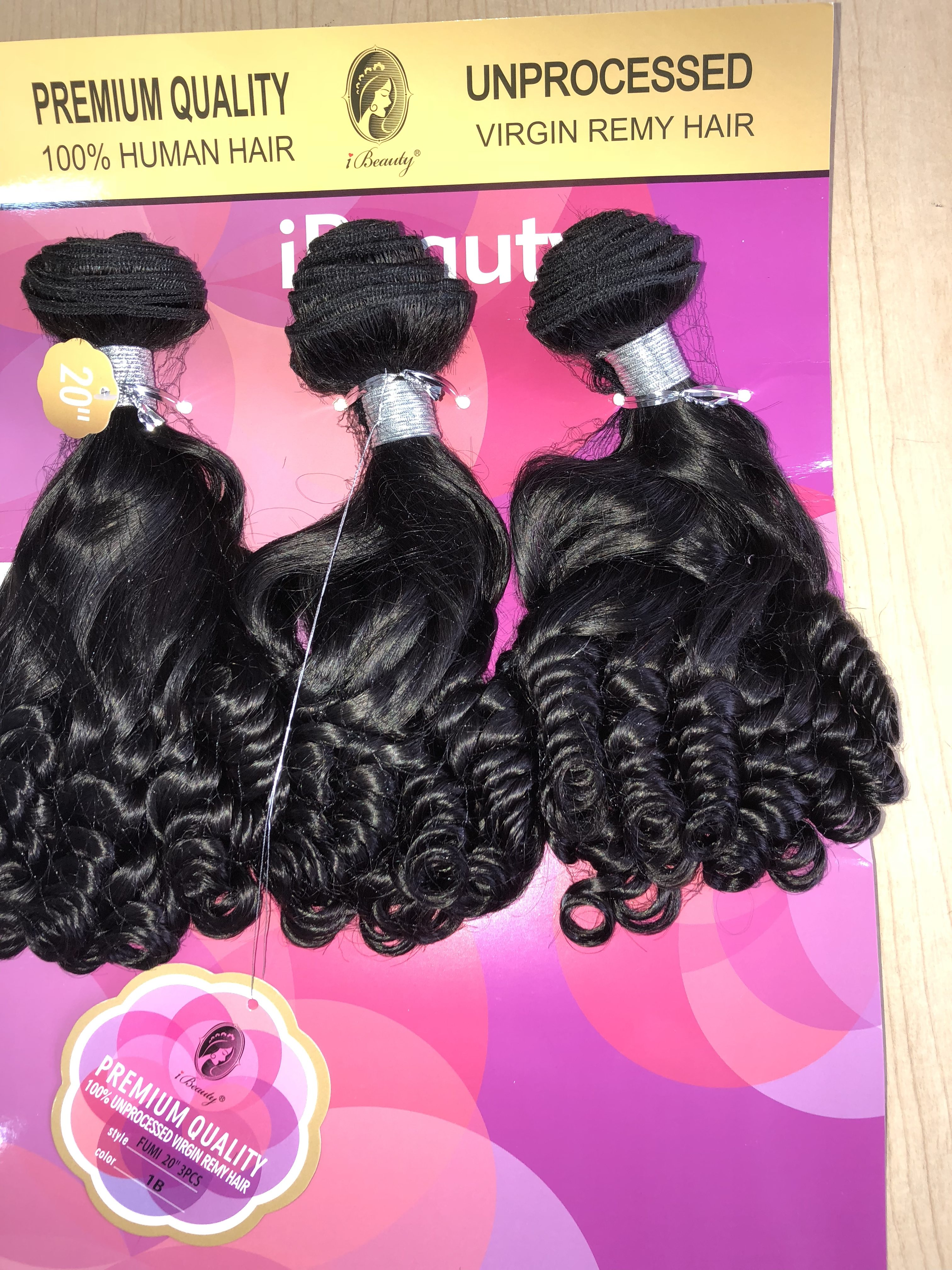 Ibeauty Unprocessed Remy Hair Marketers