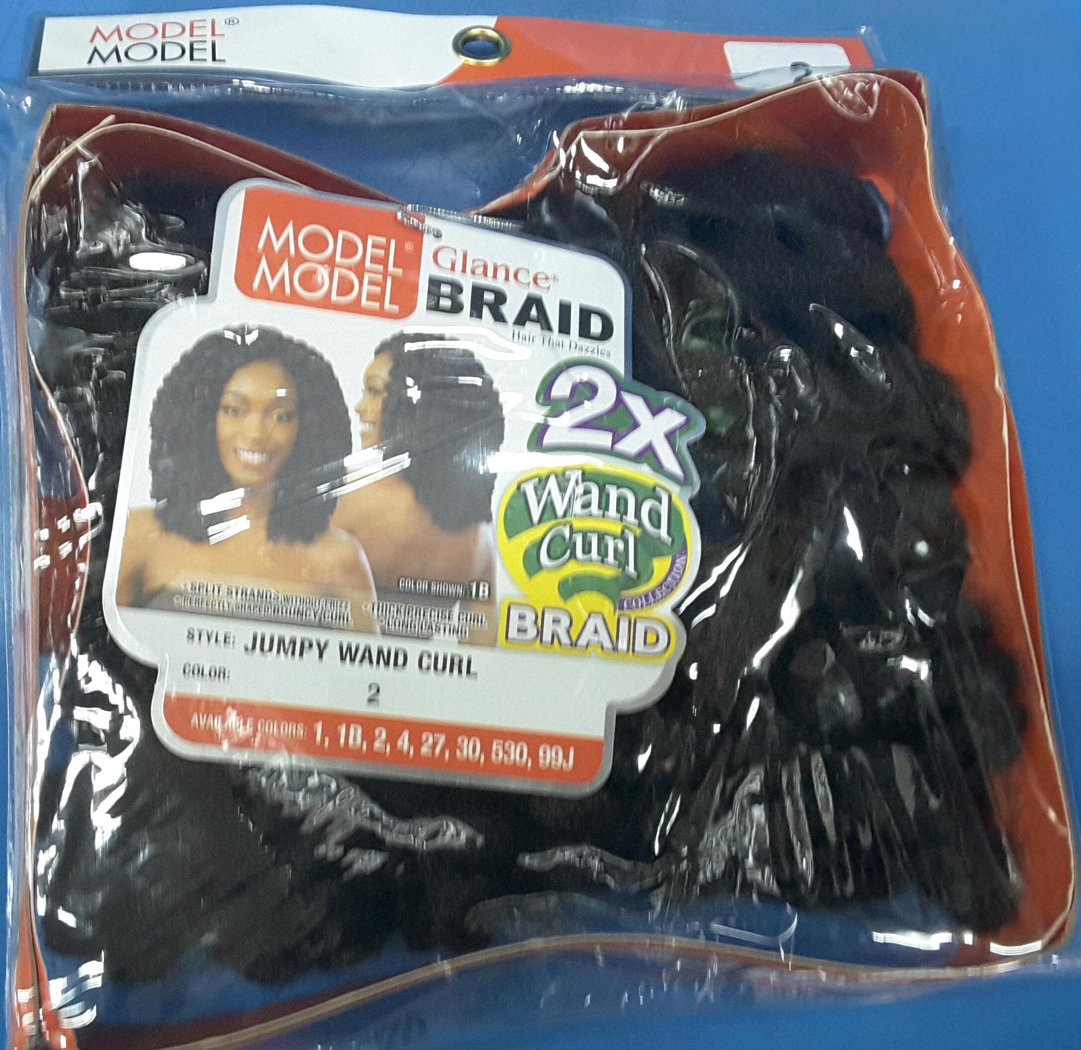 Wand Curl  Braids